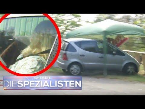 Bewusstlos im brennenden Auto eingeschlossen: Birgit Maas zur Stelle! | Die Spezialisten | SAT.1