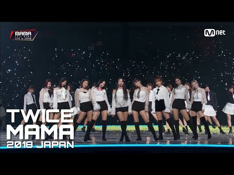 [2018MAMA In JAPAN] TWICE INTRO + YES Or YES + What Is Love + Dance The Night Away