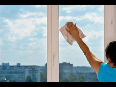 Как быстро помыть окна без разводов и химических средств