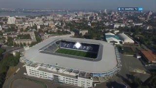 Стадион Днепр-Арена. Днепр - Александрия