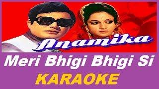 meri bhigi bhigi si Karaoke - YouTube