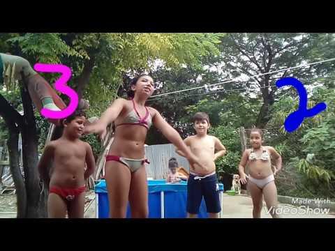 Desafio da piscina modificado 動画4本@youtube