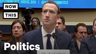 Mark Zuckerberg Testifies Before Congress On Facebook Privacy – April 11, 2018 | NowThis