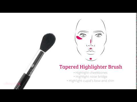Boozyshop Boozyshop BoozyBrush Small Highlighter Brush