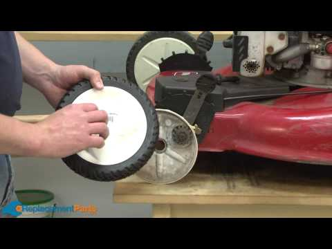 How to Replace the Drive Wheels on a Toro Front Wheel Drive Walk Behind Lawn Mower