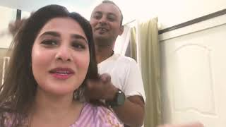 Hina Altaf Actress First Live Video On YouTube