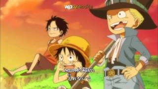 One Piece Opening 14  Fight Together Sub Thai+Karaoke