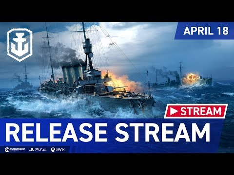 World of Warships: Legends Release Stream thumbnail