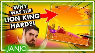 Why Was The Lion King Game SO HARD?