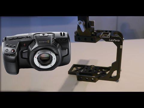 Lanparte Blackmagic Pocket Cinema Camera 4k Cage With SSD Mount, IBC 2018