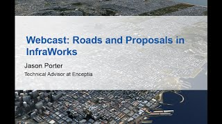 Webinar: Roads and Proposals in InfraWorks