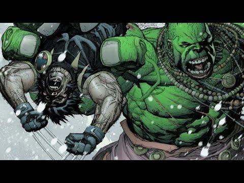 The Incredible Hulk Rips Wolverine In Half (Ultimate Wolverine vs Hulk Vol 1)