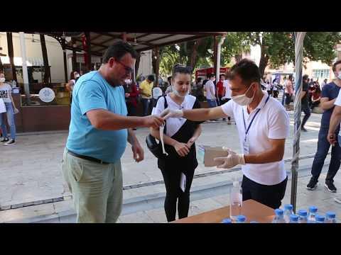 Efeler Belediyesinden YKSye giren adaylara destek