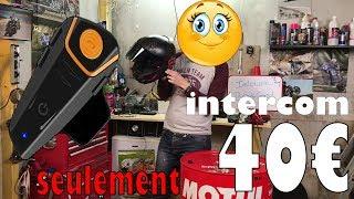 LES ACCESSOIRES DU MOTARD #1 L'intercom à 40€