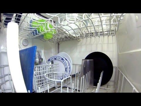 Lo que sucede dentro de un lavavajillas