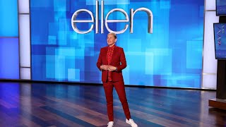 It's Ellen's birthday show, and following the tragic news about Kobe Bryant, she reminded the audience that you don't need a birthday to celebrate life. Don't wait to show your love and appreciation – do it now.  #TheEllenShow #EllenDeGeneres #Ellen