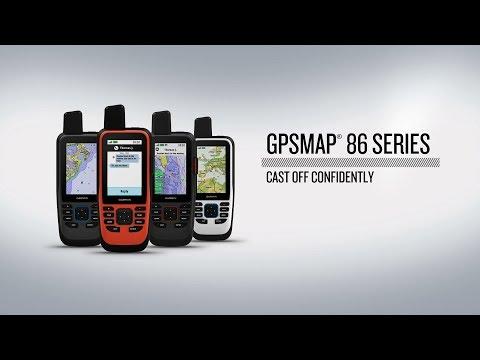 Морской портативный навигатор Garmin GPSMAP 86S