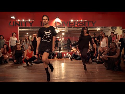 "YANIS MARSHALL & AISHA FRANCIS HEELS CHOREOGRAPHY ""FREAKUM DRESS"" BEYONCE. MILLENIUM LOS ANGELES"