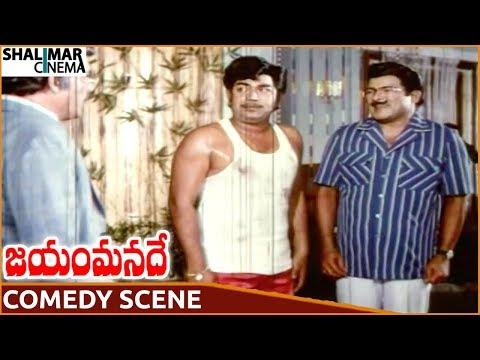 Jayam Manade Movie || Nutan Prasad & Giribabu Superb Comedy Scene || Krishna || Shalimarcinema