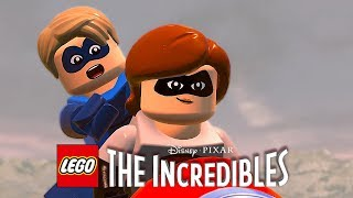 LEGO The Incredibles (ЛЕГО СУПЕРСЕМЕЙКА 2) - ПОГОНЯ. ЭЛАСТИКА НА МОТОЦИКЛЕ. 4K 60FPS