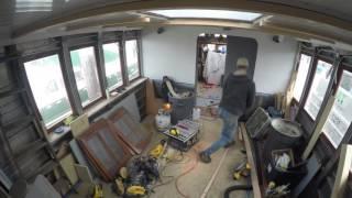 Tin Hat Project - Windows, Painting, Bridge Deck