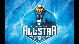 Барсик пригласил талисманы КХЛ в Астану на Неделю Звёзд Хоккея