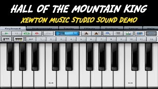 Hall of the mountain king - Demo - Music Studio app (iPad) - Strings Pizzicato - Yamaha