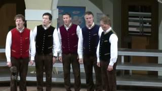 preview picture of video 'Zwei alte Leute zuhaus - singt das Quintett der Br. Smrtnik'