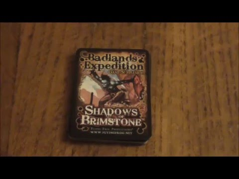 a look at Shadows of Brimstone: Badlands Expedition Supplement