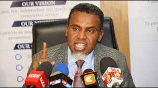 DPP Haji dismisses Sonko's nomination of a deputy governor, terming it a violation of bail terms