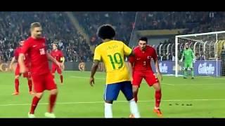 ブラジル代表MFウィリアンのエラシコが凄い!