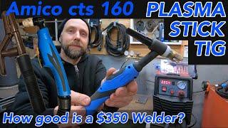 Amico CTS plasma TIG Stick welder combo