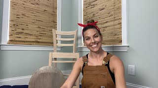 Painting & Staining Furniture LIVE | General Finishes Water Based Stain & Jolie Furniture Paint