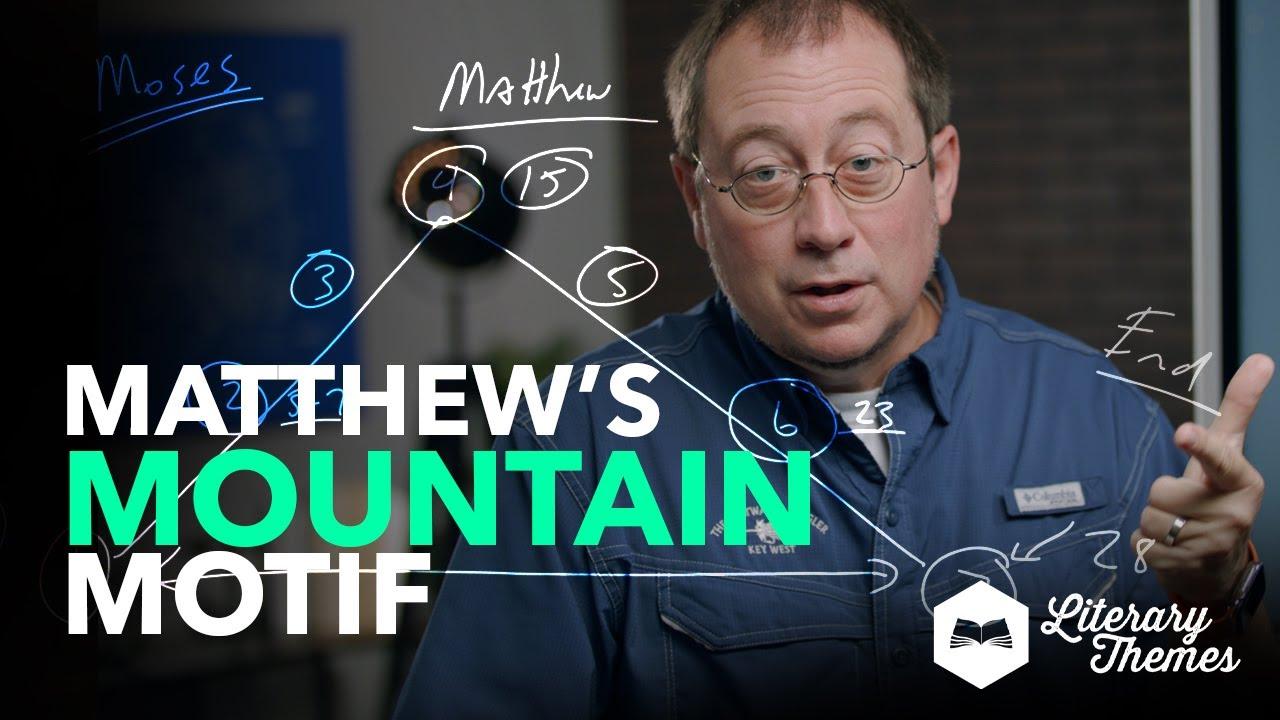 Mountain Motif In Matthew's Gospel