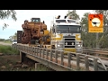 Extreme Trucks #3 - Monster Road Trains Oversize wide loads outback Aust...