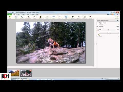 PhotoPad Image Editor tutorial