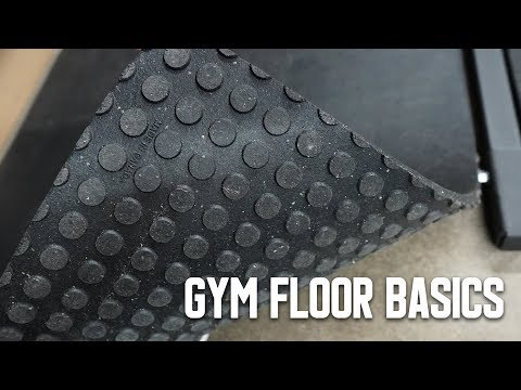 Home Gym Flooring Basics