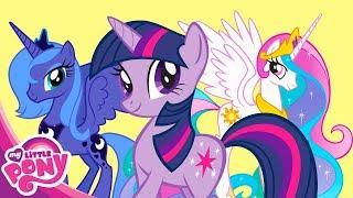Мультфильм Дружба - это чудо про Пони - Принцесса Искорка 2часть