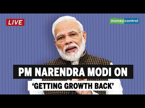 PM Modi LIVE on 'Getting Growth Back'