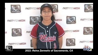 2022 Reina Zermeño Catcher, Shortstop and Outfield Softball Skills Video