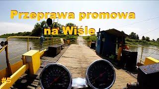 preview picture of video 'Przeprawa promowa na Wiśle Czernichów (Bandit,Bmw f650gs)'