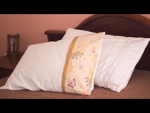 Como hacer una funda de almohada /2modelos en 10 minutos/Tutorial de costura para principiantes