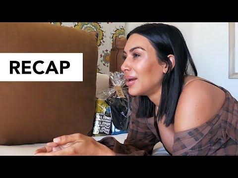 Kim Kardashian Cries Over Butt Cellulite Pics - KUWTK Recap