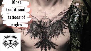 Eagle  Tattoos Design For Men (70 Eagle Tattoos)