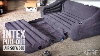 Intex Inflatable Couch with Pull-out Bed | Full Review