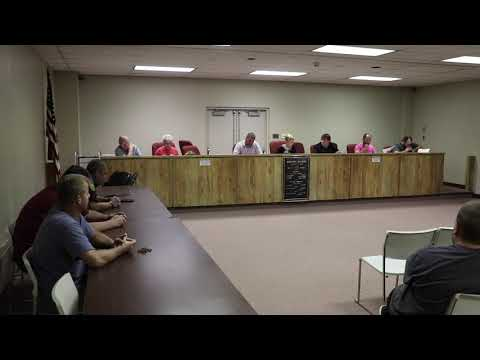 Donora Council Meeting 08-08-2019