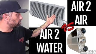 Intercoolers : Air to Water vs Air to Air for a Street Car