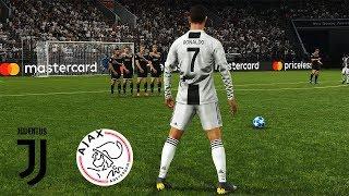 Juventus Vs Ajax | UEFA Champions League (UCL) | PES 2019