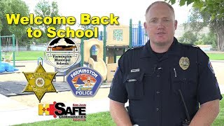 Welcome Back to School; Cpl. Johnston
