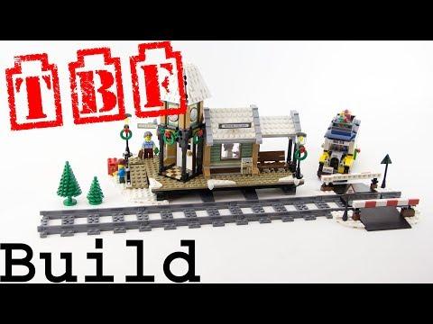 Vidéo LEGO Creator 10259 : Le village d'hiver